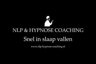Snel in slaap vallen hypnose