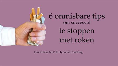 6 tips stoppen met roken