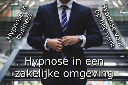 Hypnose in een zakelijke omgeving