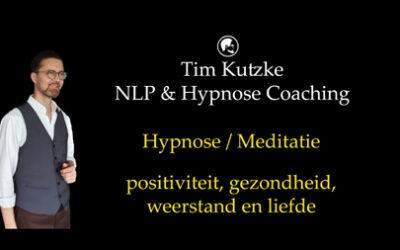 Hypnose / meditatie voor positiviteit & gezondheid