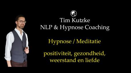 Hypnose voor positiviteit, gezondheid, weerstand en liefde