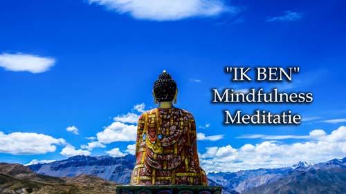 Ik ben mindfulness meditatie uitleg